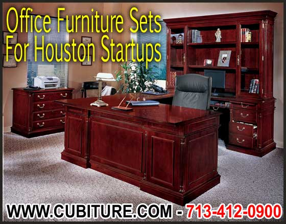 Office Furniture Sets For Houston Startups Free Delivery