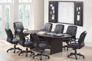 Conference Room Table & Chairs For Sale