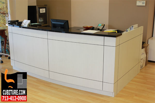 Reception Desk Millwork