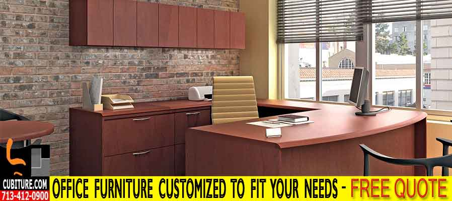 Custom Office Furniture Designed, Installed With FREE Space Planning CAD Drawings