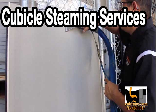 Office Cubicle Steam Steaming Cleaning Services Used Office Furniture