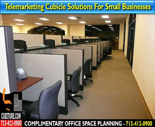 Used Telemarketing Cubicles For Sale - Free Office Space Planning Quote, Houston & Spring Branch Texas