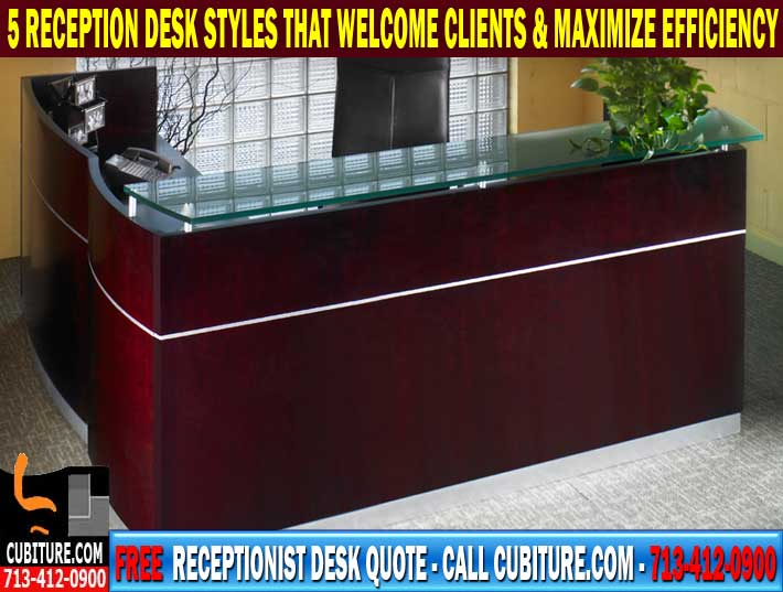 Modern Receptionist Desks