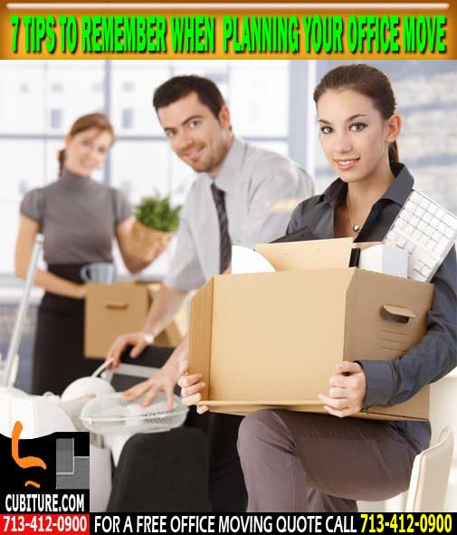 Houston Offices Movers Are Located In Houston, Texas