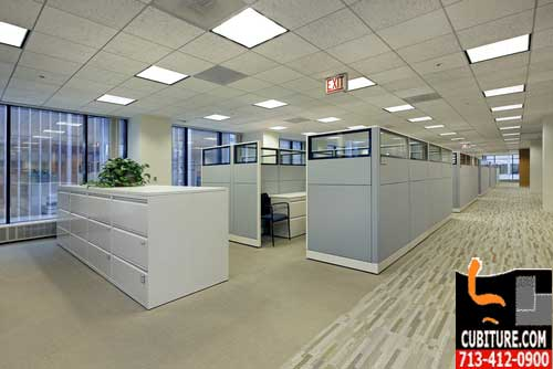 Refurbished Cubicles For Sale Factory Direct In Houston, Texas