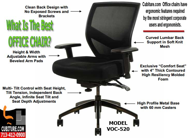 What Is Best Office Chairs For Back