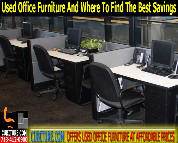 fr-478 Office Furniture Used For Sale In Houston, TX