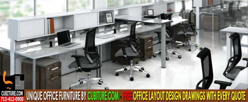 The Best Modern Office Furniture For Sale In Houston, Texas. Installation & Design Services Available