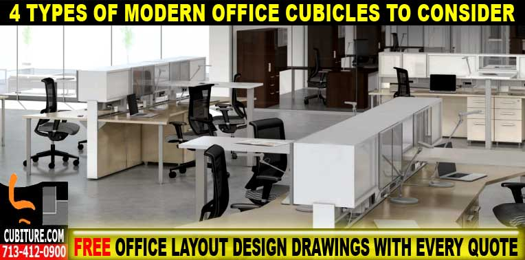 Modern Office Cubicles For Sale In Sugar Land Texas
