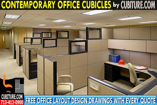 Contemporary Office Cubicles