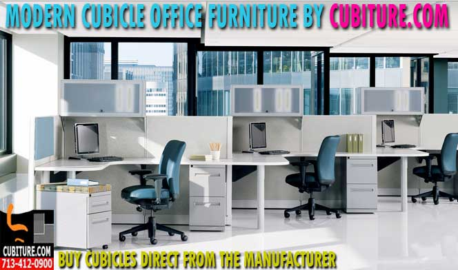 Used Cubicle Office Furniture Systems