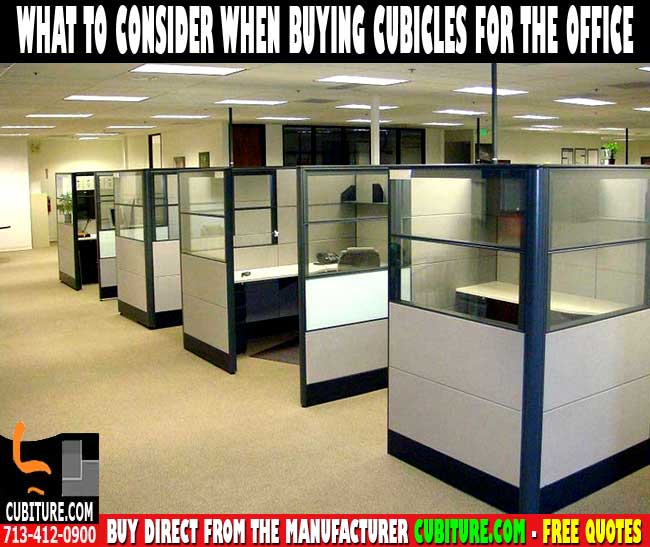 Modern Cubicle Office Furniture For Sale Houston, TX.