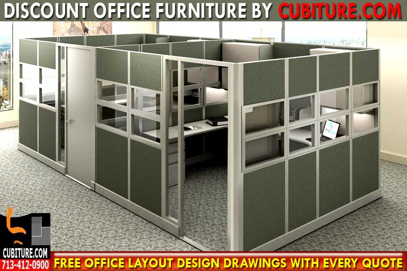 Discount Office Cubicles For Sale In Houston, Texas