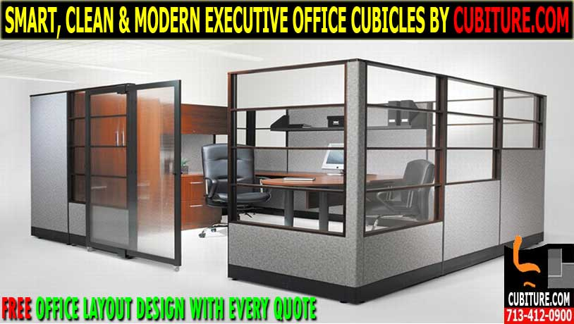 Executive Office Cubicles For Sale In Houston, TX