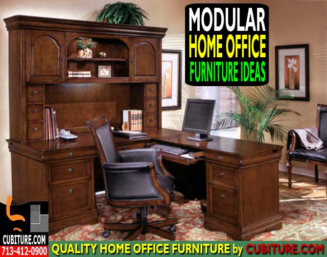 Modular Home Office Furniture Ideas