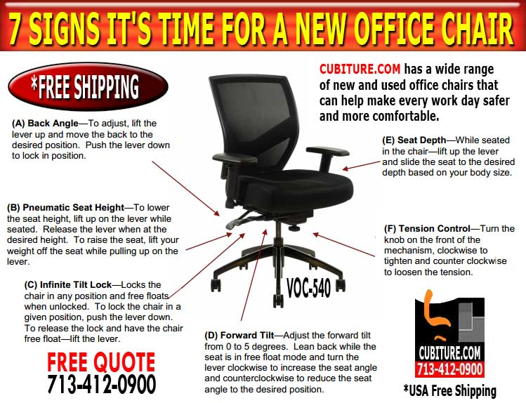Office Chair Thats Ergonomic