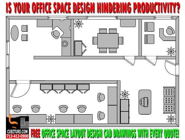 FREE OFFICE LAYOUT DESIGN CAD DRAWINGS WITH EVERY QUOTE