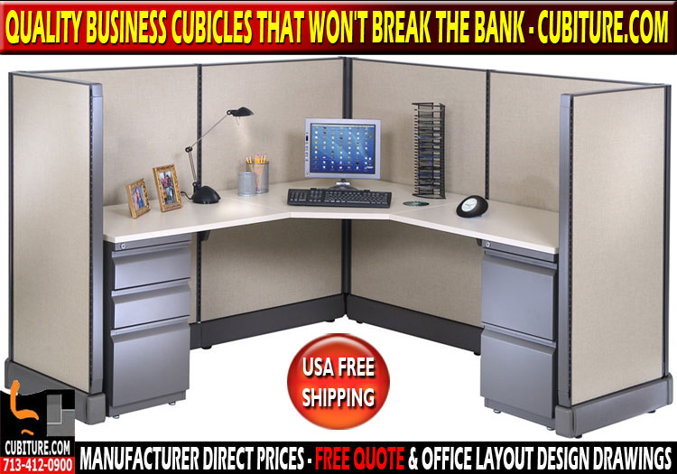 Refurbished Business Cubicles For Sale In Houston, Texas