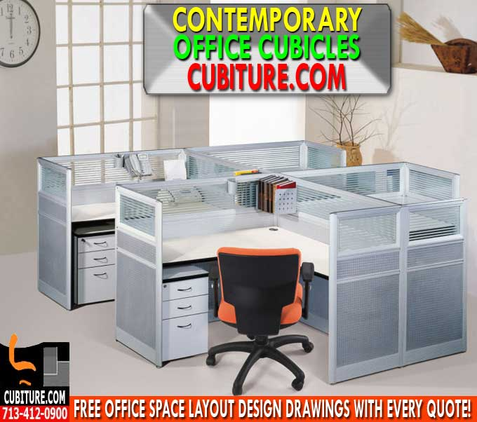 Contemporary Office Cubicle