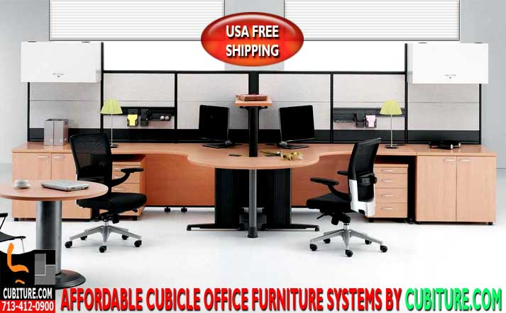 Cubicle Office Furniture Systems For Sale