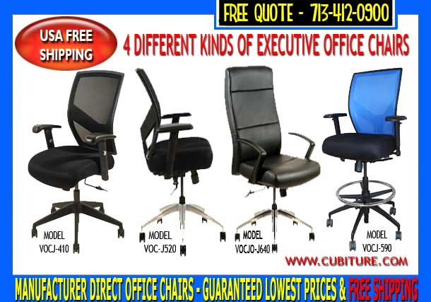 Ergo Executive Office Chairs For Sale