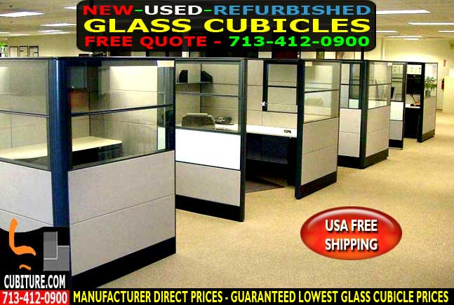 Glass Office Cubicles For Sale In Houston Texas