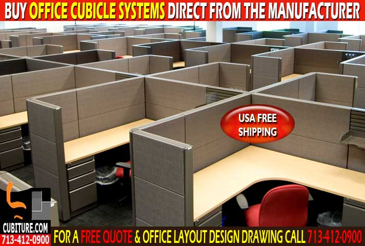 Refurbished Office Cubicle Systems