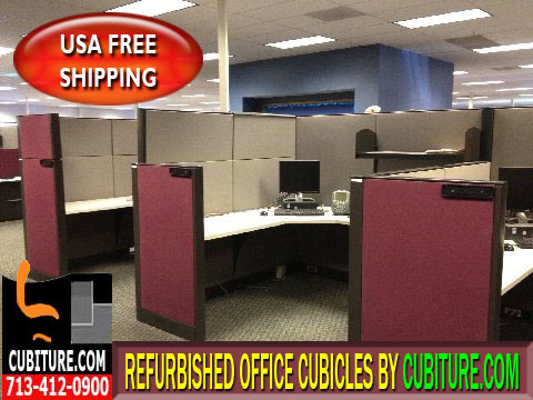 Used Office Cubicle For Sale In Houston, Texas