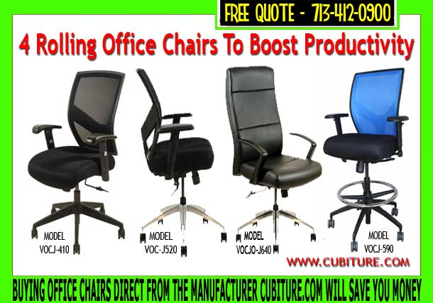 Ergonomic Rolling Office Chairs On Sale