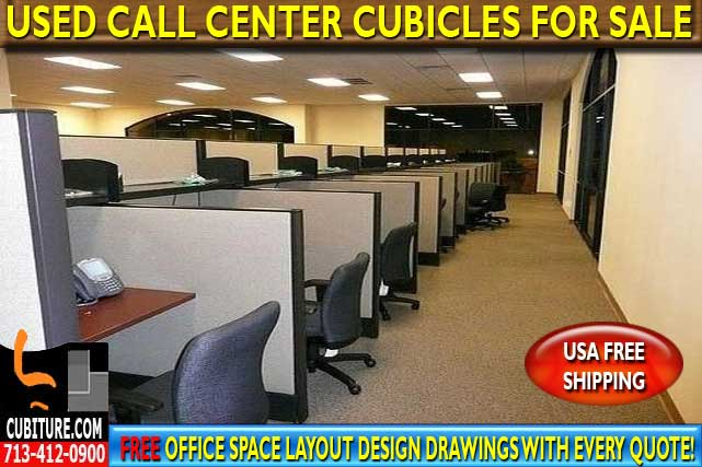 Refurbished Call Center Cubicles