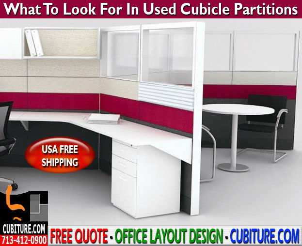Refurbished Cubicle Partitions