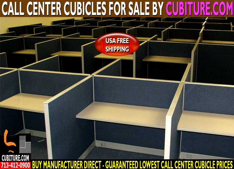 Refurbished Call Center Cubicles For Sale