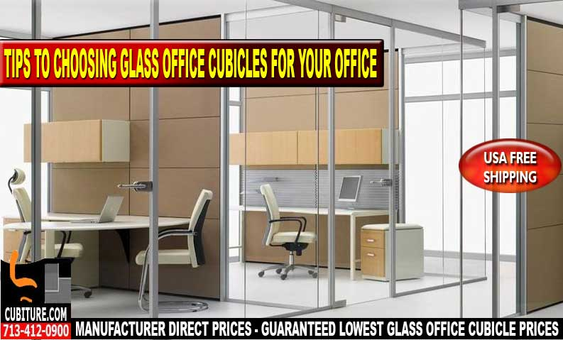 Used Glass Office Cubicles