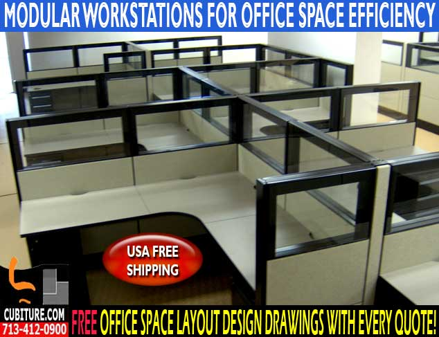 Refurbished Modular Workstations