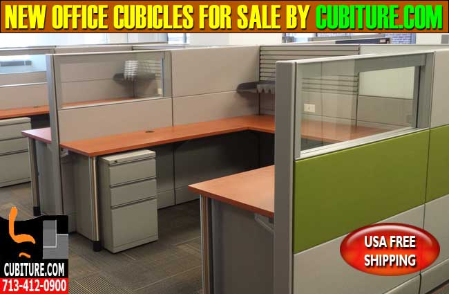 Refurbished Office Cubicles For Sale In Houston, Texas
