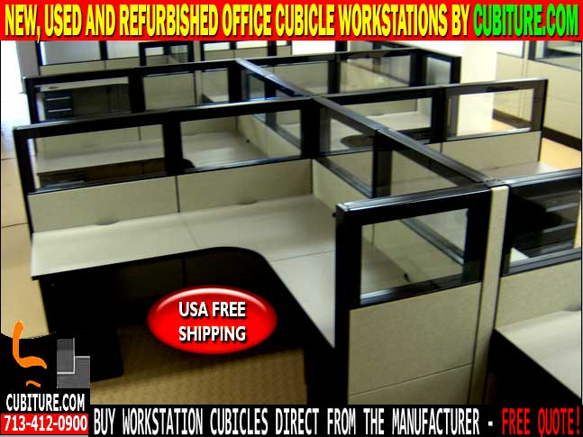Refurbished Office Cubicle Workstations