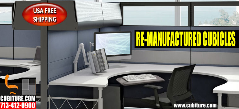 Remanufactured Office Workstations For Sale In Houston, TX