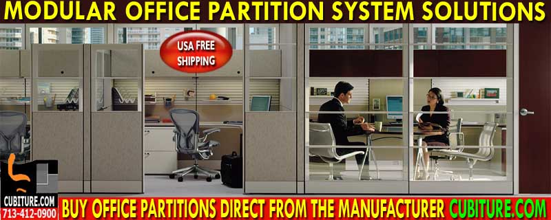 Refurbished Office Partitions on sale now