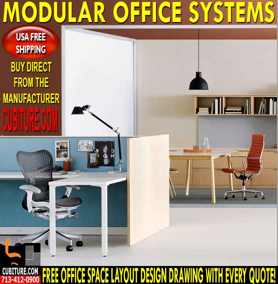Used Modular Office Systems For Sale & Installation In Houston, Texas