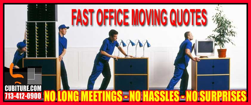 Professional Office Moving Quotes