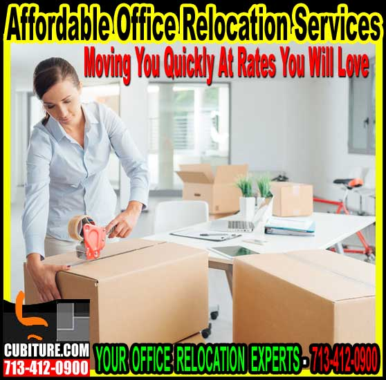 Office Relocation Services, Houston, Galveston, The Woodlands & Katy Texas