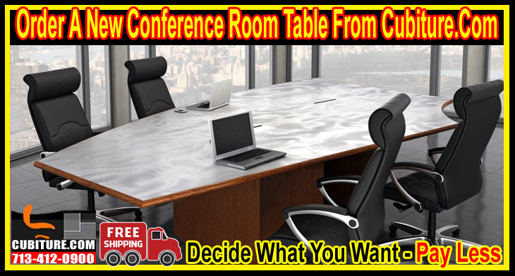 New Conference Tables For Sale in Dallas Austin, San Antonio, Fort Worth & Houston, Texas