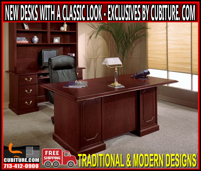 Custom Office Desk For Sale Houston, Galveston, Pasadena, San Antonio, Corpus Christi & Austin, Texas