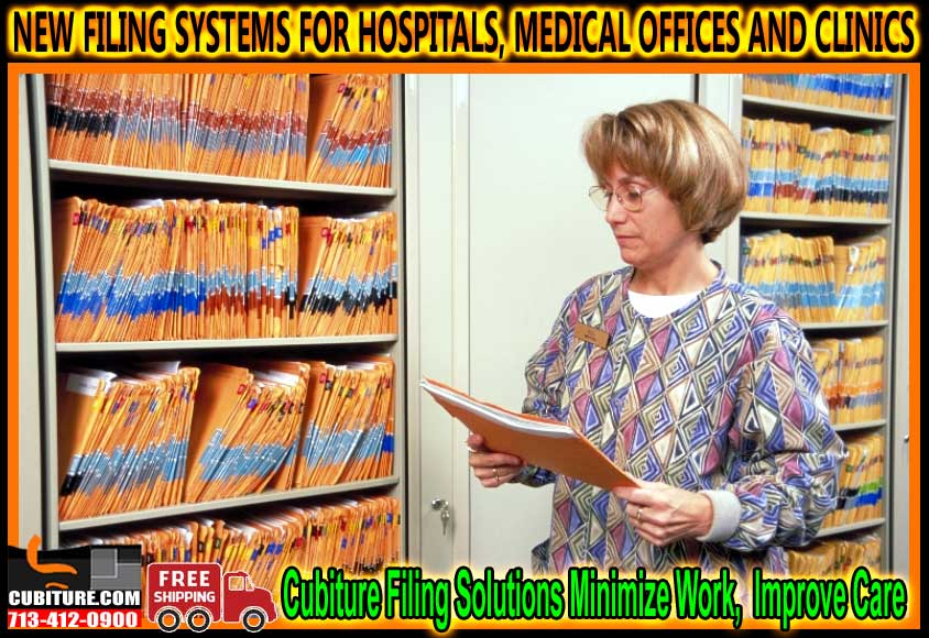 New Filing Systems For Hospitals, Medical Offices And Clinics