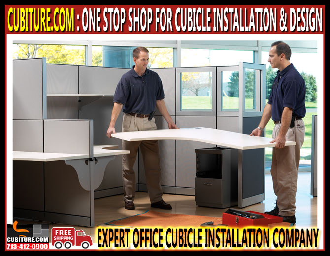 Office Cubicle Installation Design And Installation Company In Cypress, Jersey Village, Kingwood & Conroe Texas