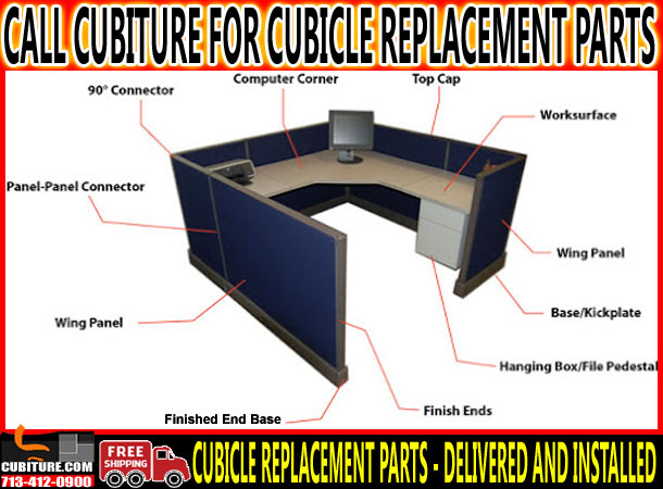 Office Cubicle Parts For Sale