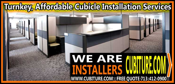 Professional Cubicle Installation Services In Beaumont, Pasadena, Katy, Woodlands, & Houston, Texas