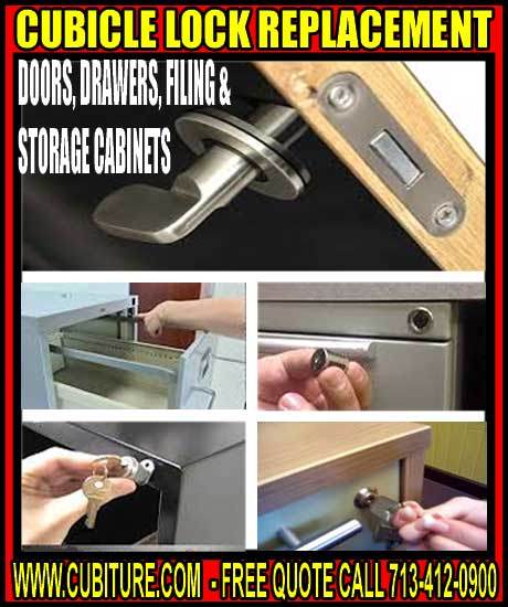 Expert Cubicle Lock Replacement Services Call 713-412-0900 For FREE Quote