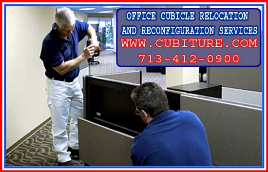 Cubicle Relocation And Reconfiguration For Sale In Houston, Pasadena, Bryan, Conroe Texas