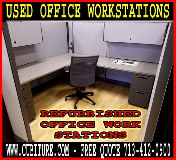 Refurbished Used Office Workstations For Sale